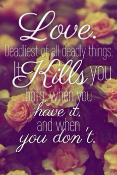 love-kills-you